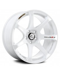"COSMIS RACING - MR7 White (18"" x 9"", +25 Offset, 5x100 Bolt Pattern, 73.1mm Hub)"