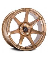 "COSMIS RACING - MR7 Hyper Bronze (18"" x 10"", +25 Offset, 5x114.3 Bolt Pattern, 73.1mm Hub)"
