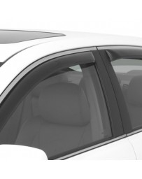 Nissan Juke Nismo RS 2014+ AVS In-Channel Ventvisor Smoke Front and Rear Window Deflectors