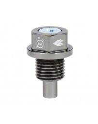 NRG Magnetic Oil Drain Plug M14X1.5 Acura/Honda/Mazda/Mitsubishi - Gunmetal