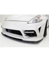 370z WeberSports Zenith Line Front Under Panel (Carbon)