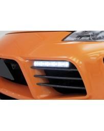 350z WeberSports Zenith Line Front Bumper Duct Fin (Carbon)