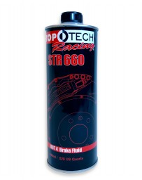 R34 Stoptech Racing STR 660 Brake Fluid - 500ml Bottle