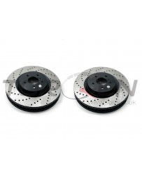 350z StopTech Discs for Brembo brakes - Rear pair - DRILLED