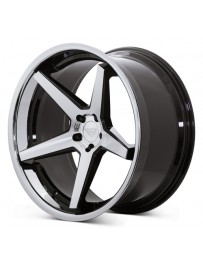 Ferrada FR3 Machine Black Chrome Lip 22x10.5 Bolt : 5x4.75 Offset : +28 Hub Size : 71.6 Backspace : 6.85