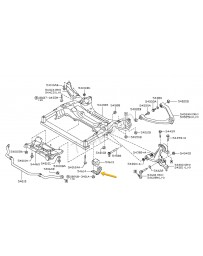 350z Nissan OEM Clamp-stabilizer RH
