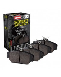370z StopTech Street Select Brake Pad with Hardware Kit for Akebono brakes - REAR