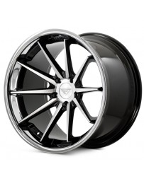 Ferrada FR4 Machine Black Chrome Lip 22x9 Bolt : 5x4.5 Offset : +35 Hub Size : 73.1 Backspace : 6.38
