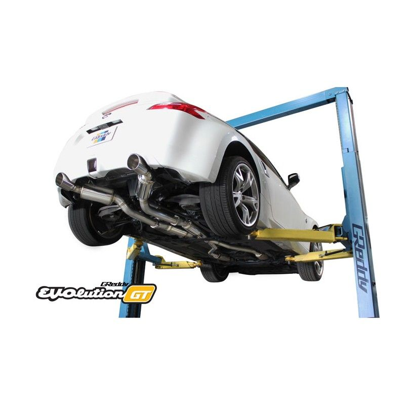 370z GReddy Evolution GT 304 SS Cat-Back Exhaust System