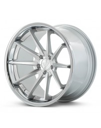 Ferrada FR4 Machine Black Chrome Lip 22x9 Bolt : 5x112 Offset : +30 Hub Size : 66.6 Backspace : 6.18