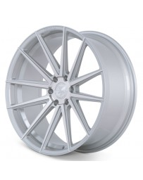 Ferrada FT1 Machine Silver 24x10 Bolt : 6x135 Offset : +30 Hub Size : 87.1 Backspace : 6.68