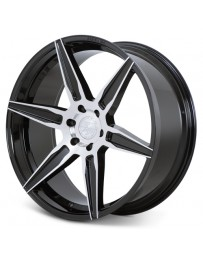 Ferrada FT2 Machine Black 22x9.5 Bolt : 6x5.5 Offset : +30 Hub Size : 78.1 Backspace : 6.43