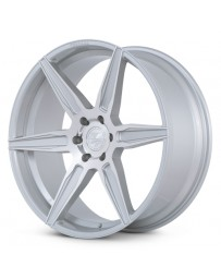 Ferrada FT2 Machine Silver 22x9.5 Bolt : 6x5.5 Offset : +30 Hub Size : 78.1 Backspace : 6.43
