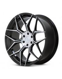 Ferrada FT3 Machine Black 22x9.5 Bolt : 6x135 Offset : +30 Hub Size : 87.1 Backspace : 6.43