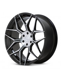 Ferrada FT3 Machine Black 24x10 Bolt : 6x135 Offset : +30 Hub Size : 87.1 Backspace : 6.68