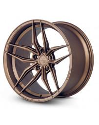 Ferrada F8-FR5 Matte Bronze 20x9 Bolt : 5x112 Offset : +35 Hub Size : 66.6 Backspace : 6.38
