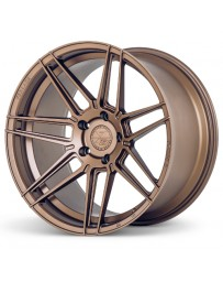 Ferrada F8-FR6 Matte Bronze 20x9 Bolt : 5x112 Offset : +45 Hub Size : 66.6 Backspace : 6.77