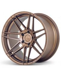 Ferrada F8-FR6 Matte Bronze 20x9 Bolt : 5x4.5 Offset : +35 Hub Size : 73.1 Backspace : 6.38