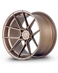 Ferrada F8-FR8 Matte Bronze 20x9 Bolt : 5x112 Offset : +35 Hub Size : 66.6 Backspace : 6.38