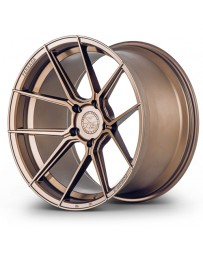 Ferrada F8-FR8 Matte Bronze 20x10 Bolt : 5x112 Offset : +45 Hub Size : 66.6 Backspace : 7.27