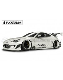Toyota 86 / Scion FR-S / Subaru BRZ (ZN6) Pandem Complete V3 Widebody Aero Kit (with no wing options)