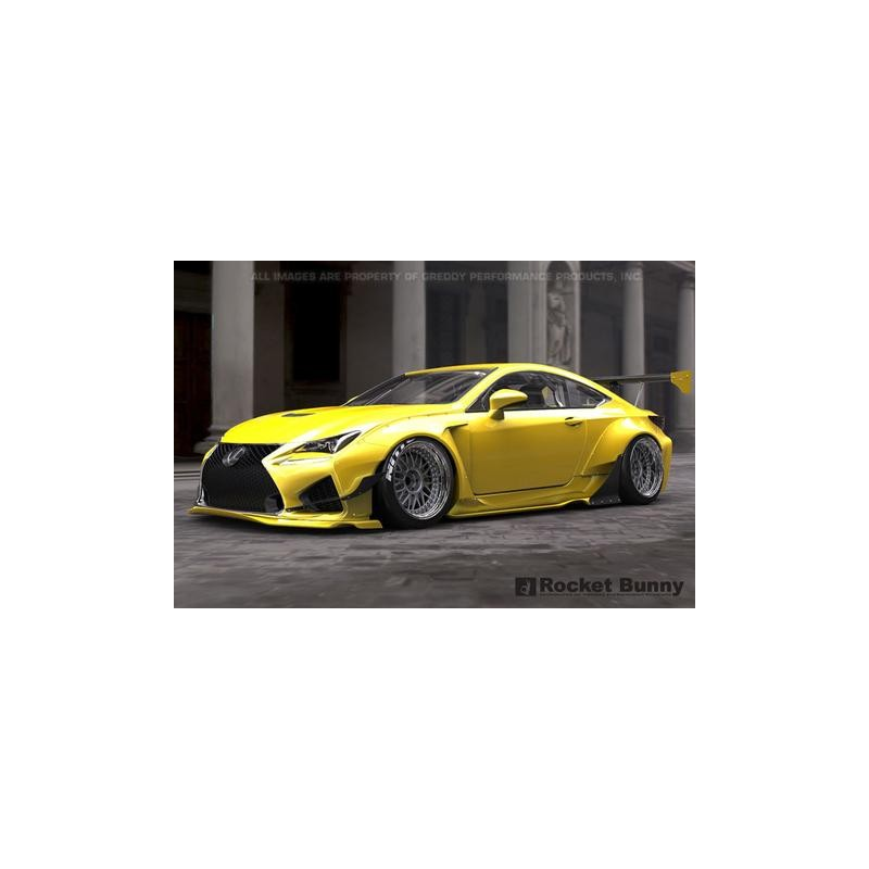 Lexus RCF Rocket Bunny Complete Widebody Aero Kit with GT
