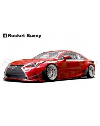 Lexus RC Rocket Bunny Complete Widebody Aero Kit with Wing