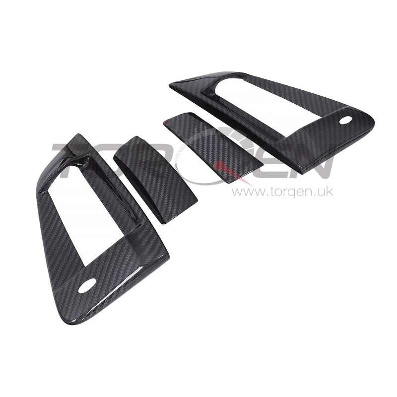 370z EVO-R Carbon Fiber Door Handle Cover