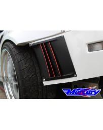 350z Mercury Z Project Rear Bumper Ducts
