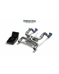 ARMYTRIX McLaren 720S 17-19 Valvetronic Muffler + Wireless Remote Control Kit (OWRC)