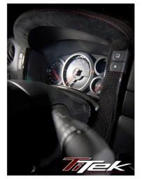 Nissan GT-R R35 Titek Carbon Fiber Center Gauge Bezel - Matte
