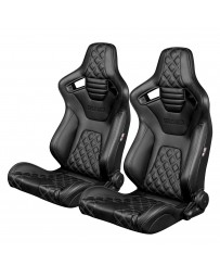 BRAUM ELITE-X SERIES RACING SEATS ( DIAMOND ED. | BLACK PIPING ) – PAIR