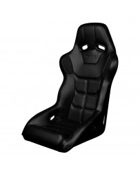 BRAUM FALCON X SERIES FIA APPROVED FIXED BACK RACING SEAT (BLACK LEATHERETTE)