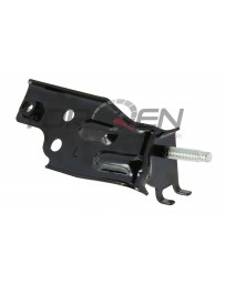 350z Nissan OEM Brake Line Bracket, Knuckle Side with Brembo Calipers LH