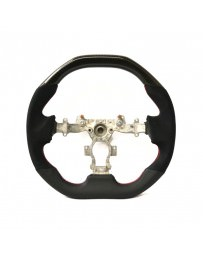 Nissan GT-R R35 DCTMS Sportive Flat Top Glossy Carbon Flat Bottom Steering Wheel