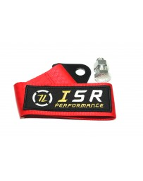 ISR Performance Universal Racing Tow Strap - Red