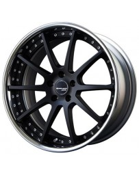 SSR Executor CV01 20x9.0 +44 NR (Normal Disk) 5/114.3 Super Black Coat