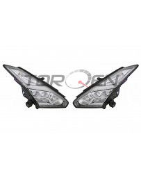 Nissan GT-R R35 OEM Headlight Assembly LED 2015 (Pair)