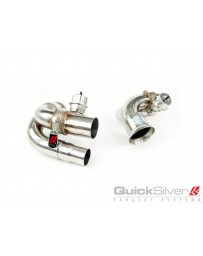 QuickSilver Exhausts Porsche 911 GT3 and RS inc. 4.0 (997 Gen 1 and 2) - Sport Side Muffler Deletes w/Valves (2006-12)