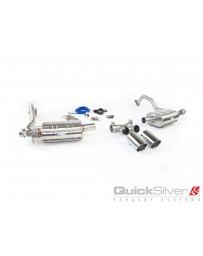 QuickSilver Exhausts Porsche Boxster S 3.4 (987 Gen2) Active Sport Exhaust (2009-12)
