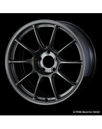 WedsSport TC-105X 18x9 5x120 ET45 Wheel- Titanium