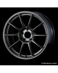 WedsSport TC-105X 18x9.5 5x114.3 ET25 Wheel- Titanium