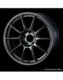WedsSport TC-105X 18x8.5 5x114.3 ET32 Wheel- Titanium