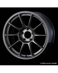 WedsSport TC-105X 17x9.5 5x114.3 ET45 Wheel- Titanium