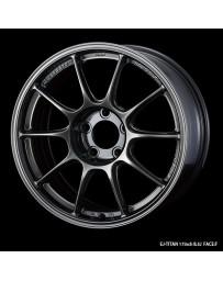 WedsSport TC-105X 17x9 5x114.3 ET10 Wheel- Titanium