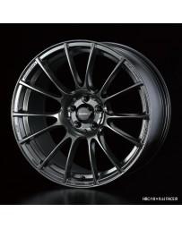 WedsSport SA-72R 18x9.5 5x114.3 ET12 Wheel- Hyper Black