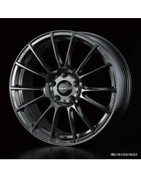 WedsSport SA-72R 18x8.5 5x100 ET45 Wheel- Hyper Black