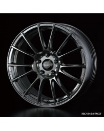 WedsSport SA-72R 18x7.5 5x100 ET45 Wheel- Hyper Black