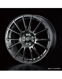 WedsSport SA-72R 17x7.5 5x114.3 ET45 Wheel- Blue Light Chrome Black