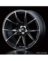 WedsSport SA-10R 18x10.5 5x114.3 ET12 Wheel- Zebra Black Bright